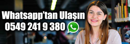 Abdullah Gül Üniversitesi'ne WhatsApp ile ulaşın