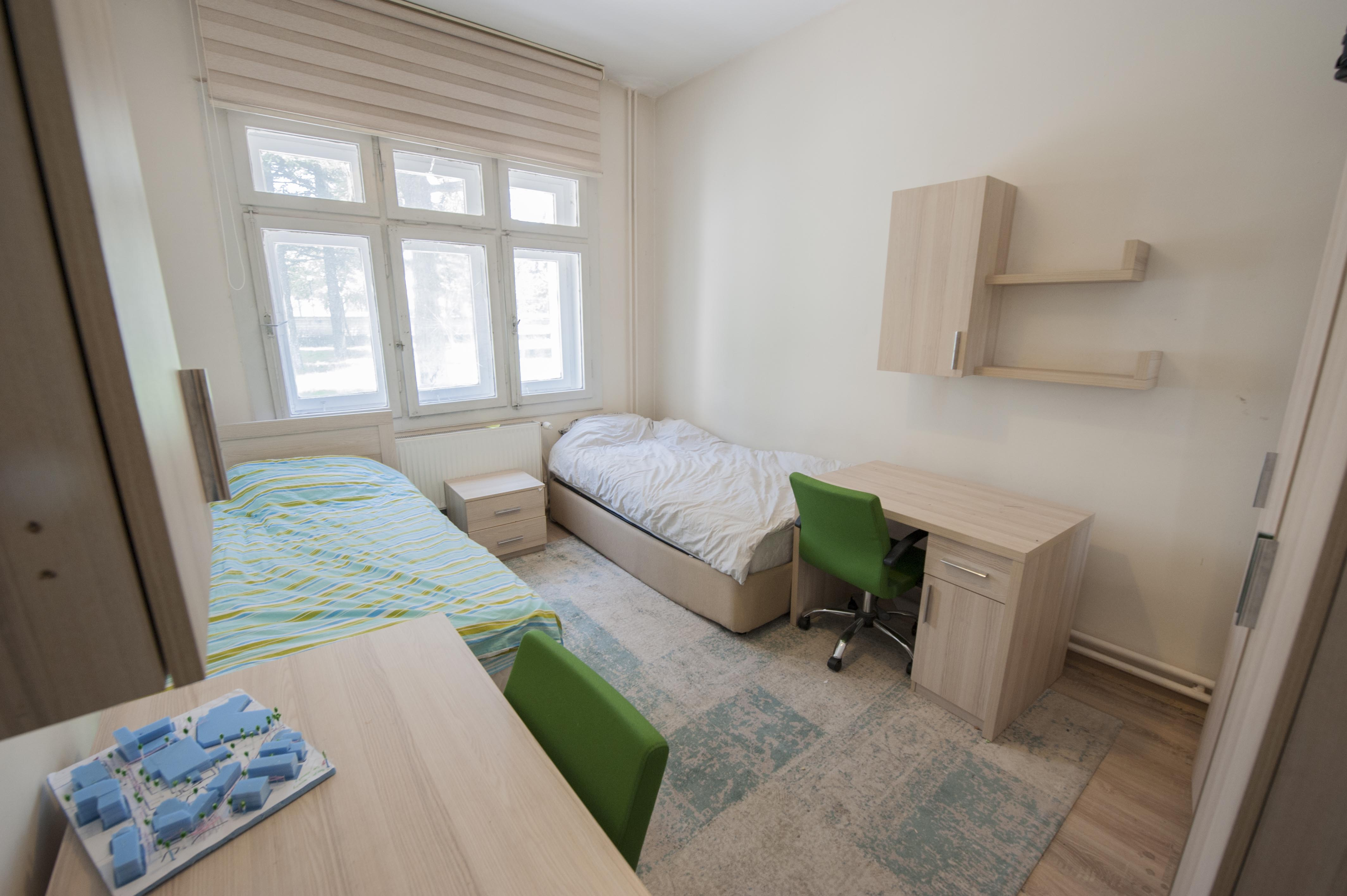 Abdullah Gül University student dorms, student village, on-campus accommodation