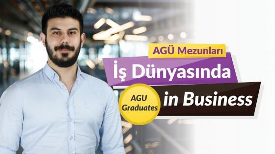 AGÜ Mezunlaru İş Dünyasında, Agu Graduates in the Business World, Berkay Güncan, AGU Alumni, Mechanical Engineering, Stryker