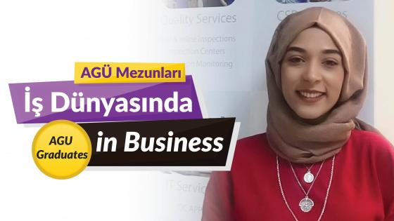 AGÜ Mezunlaru İş Dünyasında, Agu Graduates in the Business World, Hatice Karaboğa, AGU Alumni, Business Administration, Asia Quality Management
