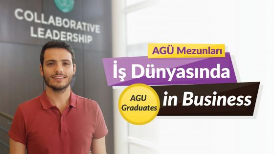 AGÜ Mezunlaru İş Dünyasında, Agu Graduates in the Business World, Ömer Sarıca, AGU Alumni, Business Administration, Allianz Partners