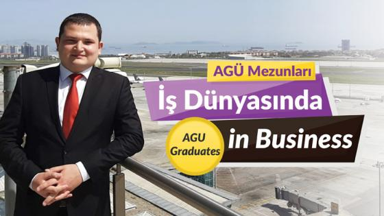 AGÜ Mezunlaru İş Dünyasında, Agu Graduates in the Business World, Ramis Akın Korkmaz, AGU Alumni, Industrial Engineering, Air Traffc Controler, DHMİ