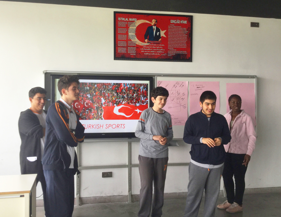 Abdullah Gül University, Intercultural, Workshops, AGU International Office, AGUV Tekden Anadolu Lisesi, Kayseri, Turkey