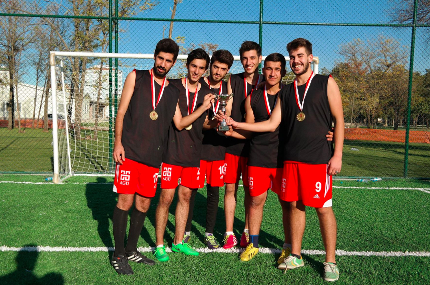 Abdullah Gül University, AGU, tournament, football, sports, on campus