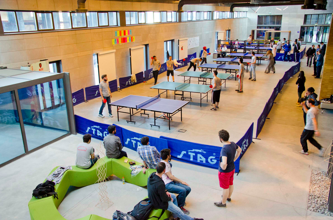 AGU, Abdullah Gül University, tournament, competition, ping pong, table tennis, sports, department of physical education and sports, BESYO