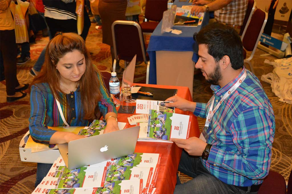 Abdullah Gül University, AGU, News, International, Student Fairs, Azerbaijan, Baku