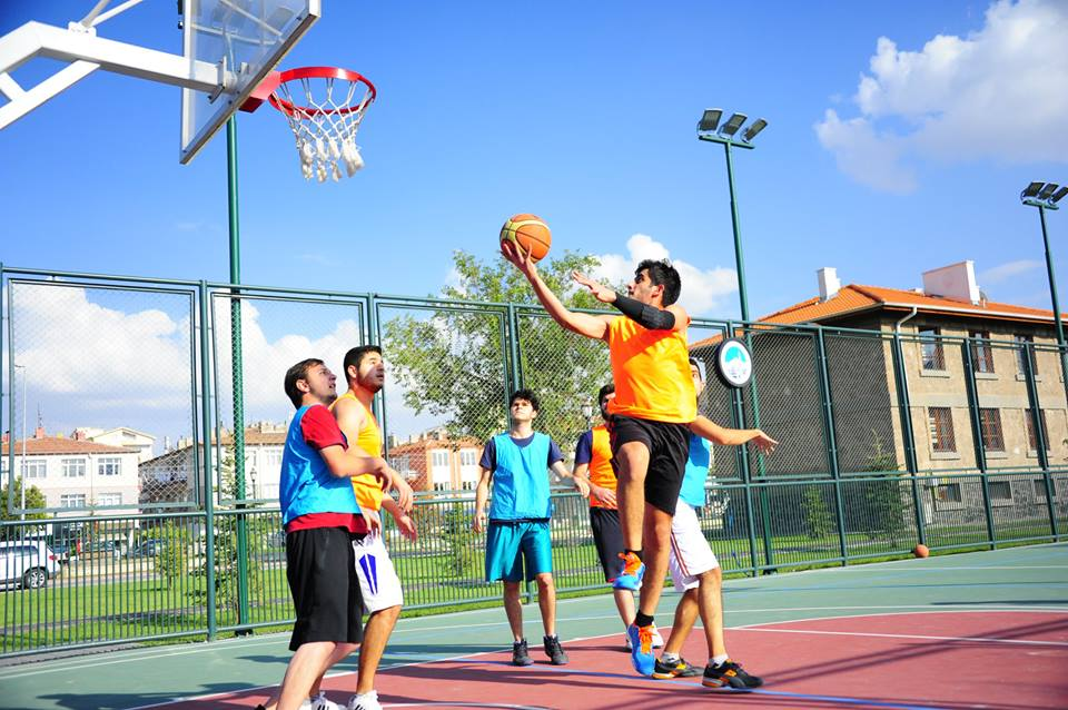 Abdullah Gül University, sports, social life, basketball, sports facilities, student dorms