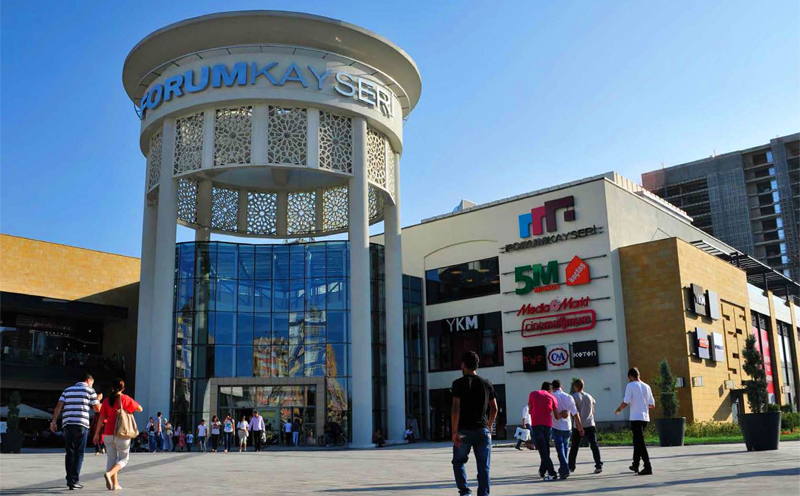 Kayseri, forum, shopping, center, mall