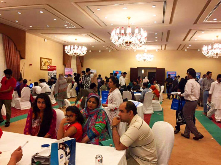 Abdullah Gül University, AGU, News, International, Student Fairs, Pakistan, Islamad, Lahore, Karachi
