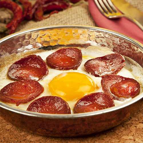 Turkey, food, typical, cuisine, sucuk, yumurta, sausage, eggs