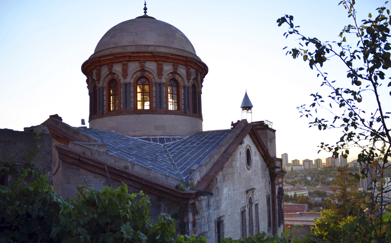 kayseri, talas, church, surp krikor