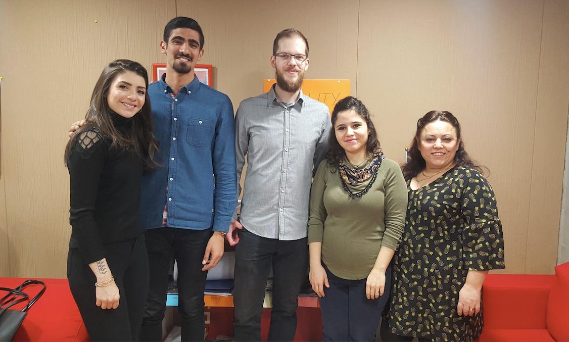 AGÜ'ye ilk Erasmus ve Exchange öğrencilerimiz geldi.