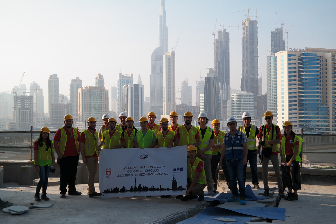Technical Visit to Dubai from the Future Civil Engineers