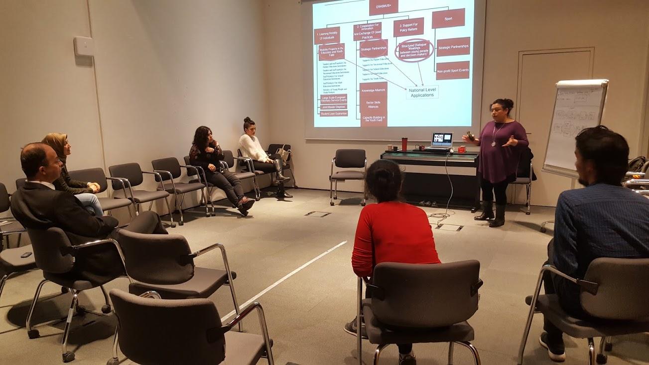 Erasmus+ Hareketlikleri Hakkında Üniversitemiz Personeline Bilgilendirme