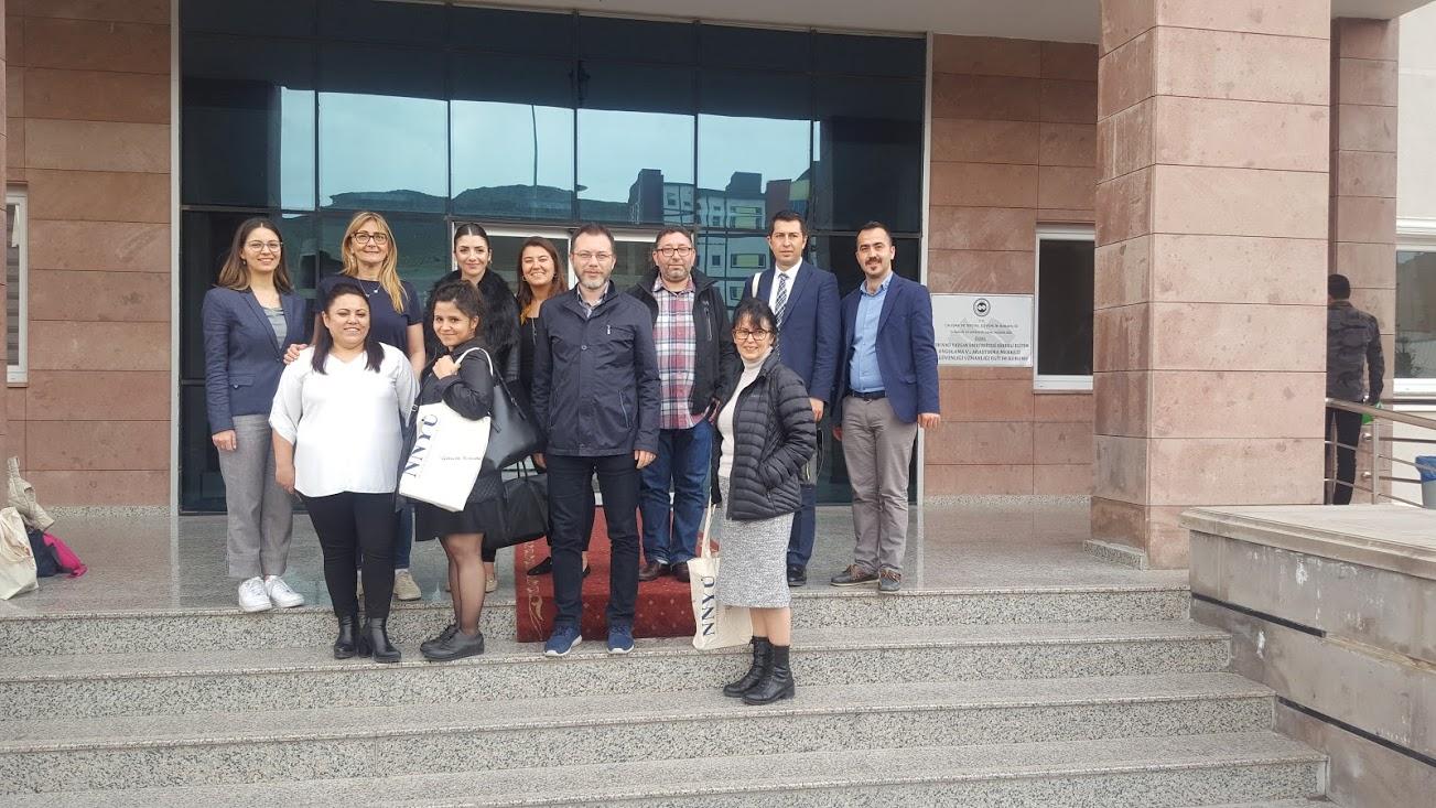 ErasmusTern Konsorsiyum Projesi Ara Dönem Toplantısı