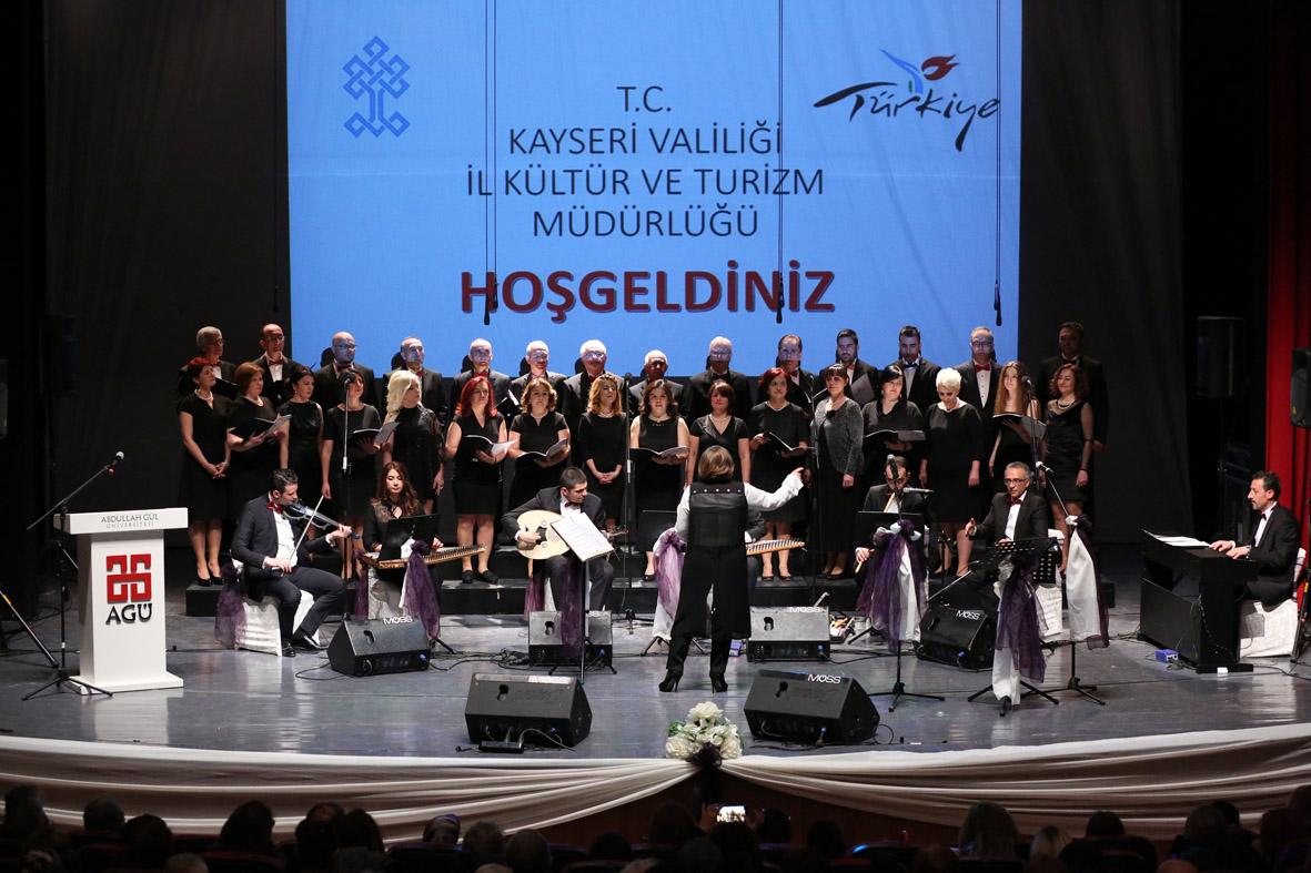 AGÜ Müzik Topluluğundan Türk Sanat Müziği Konseri...