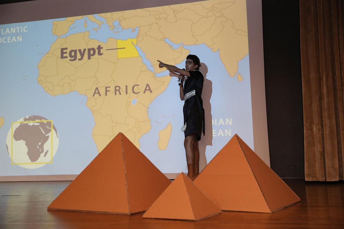 """AGÜ'de """"Mısır Günü"""" Etkinliği..."""