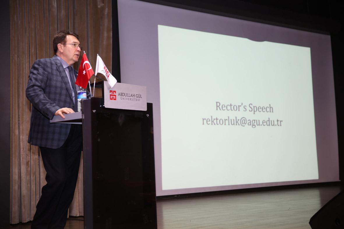 Rektör Sabuncuoğlu İkinci Dönemine Başladı...