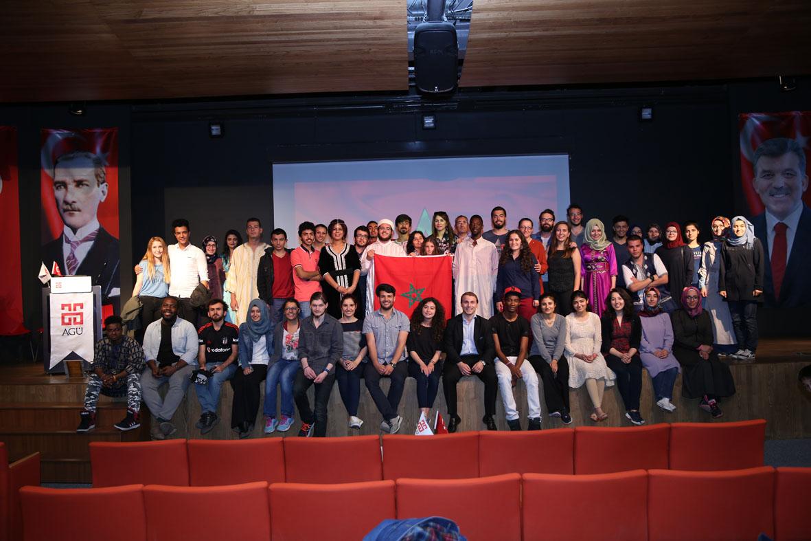 AGÜ'de Uluslararası Kültür Etkinlikleri...