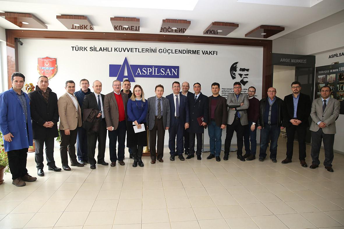 AGÜ Heyetinden ASPİLSAN Enerji'ye Ziyaret...