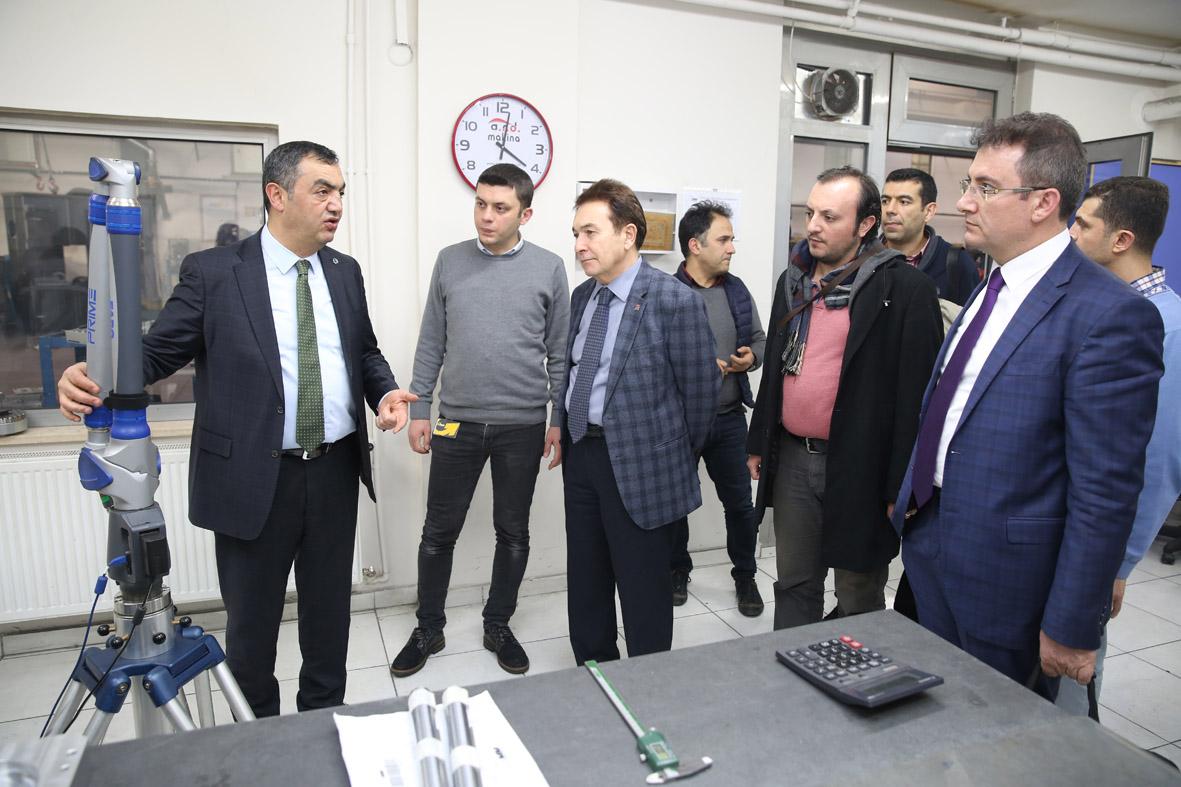 AGÜ Üniversite-Sanayi İşbirliği Çalışmaları...