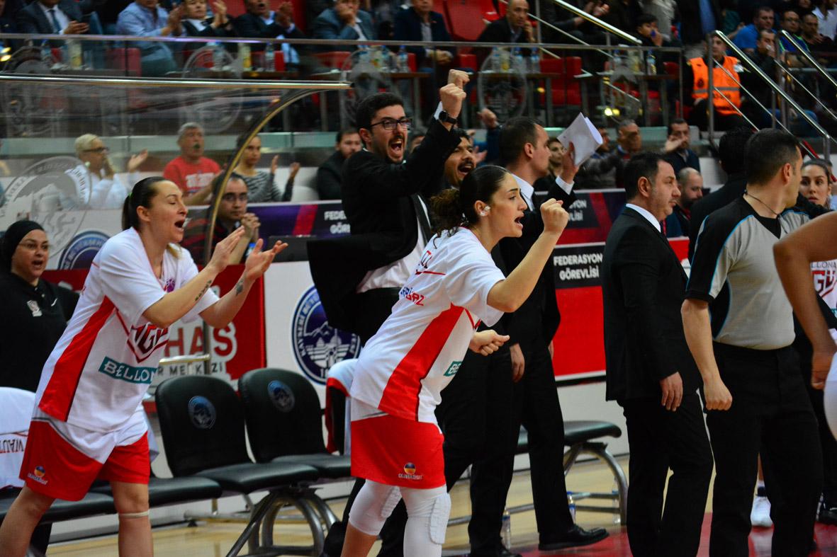 Bellona AGÜ Spor, EuroCup'ta 3. Kez Finalde...