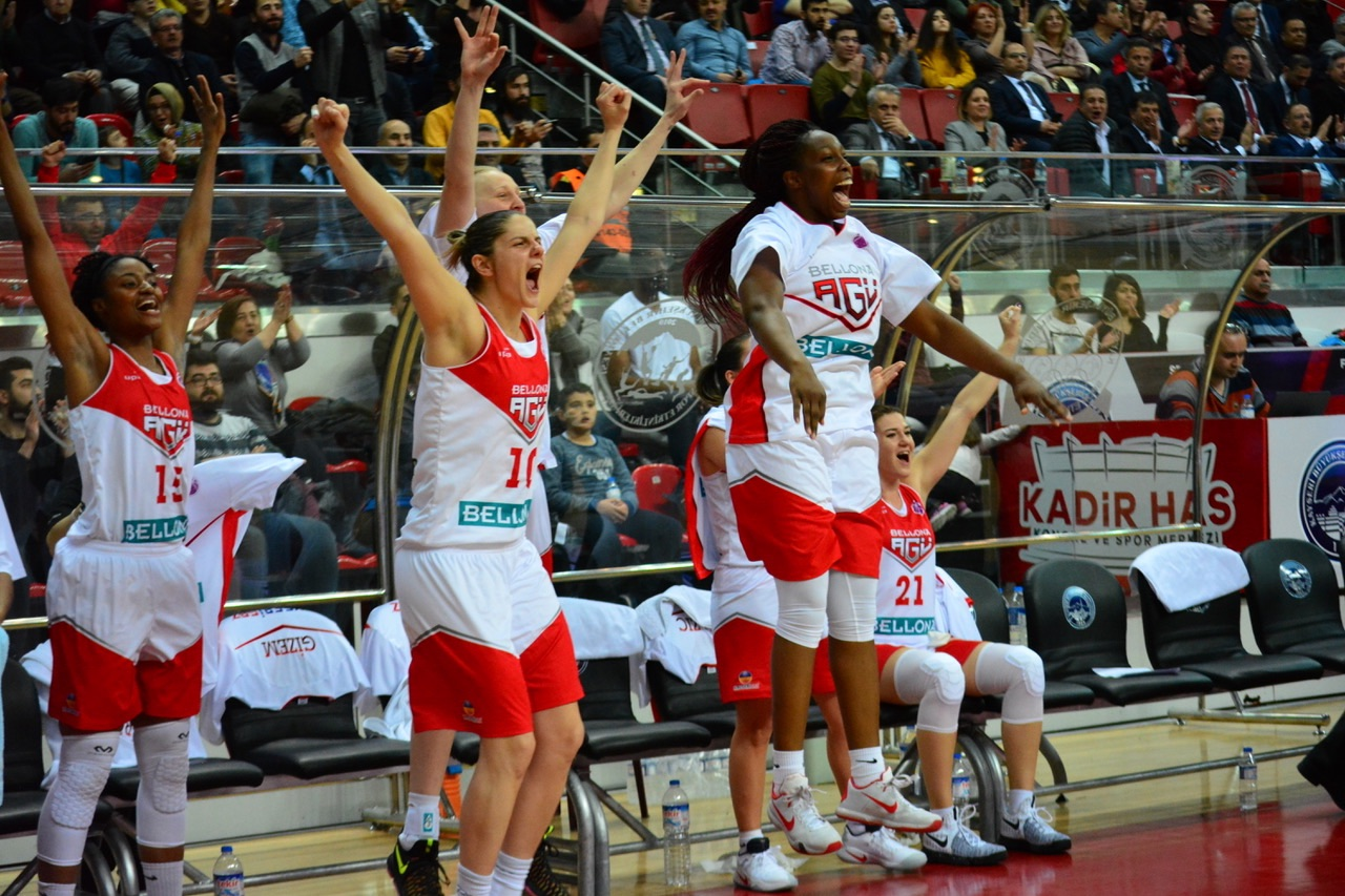 Bellona AGÜ Spor EuroCup'ta Yarı Finalde
