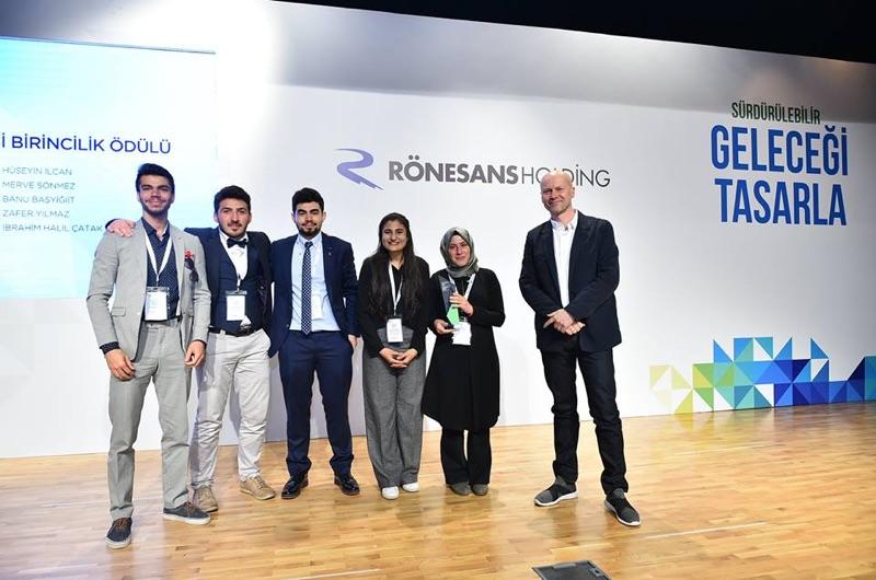 """Rönesans Holding'in """"Sürdürülebilir Geleceği Tasarla"""" Yarışması..."""