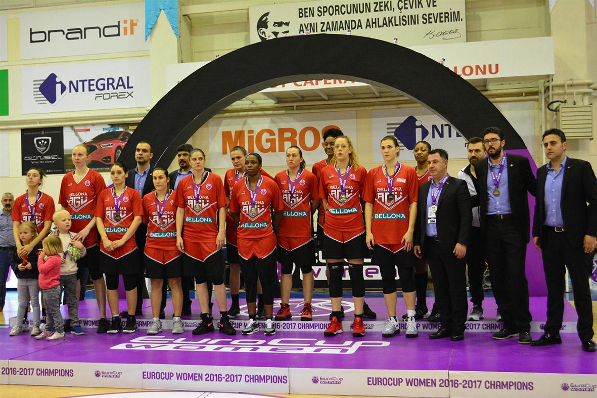 Bellona AGÜ Spor, EuroCup İkincisi...