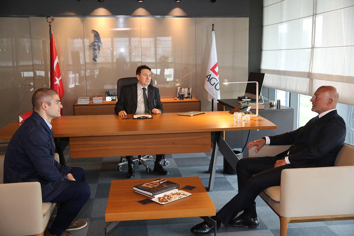 Doğuş Grubu Başkanı Şahenk'ten AGÜ'ye Ziyaret...