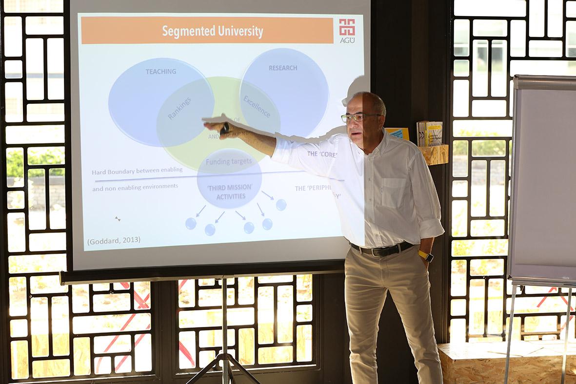 AGÜ'den, Topluma Hizmet Odaklı Bir Üniversite Sistemi Tasarımı...