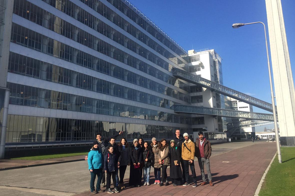 AGÜ'nün Genç Mimar Adaylarından Hollanda'ya Teknik Gezi...