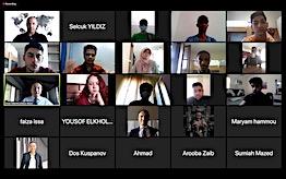 Rektör Sabuncuoğlu AGÜ'ye Yeni Katılan Uluslararası Öğrencilerle Biraraya Geldi