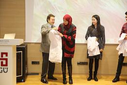 MBG'de Önlük Giyme Töreni...
