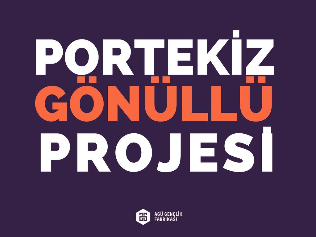 Gönüllülük Projesi-Portekiz