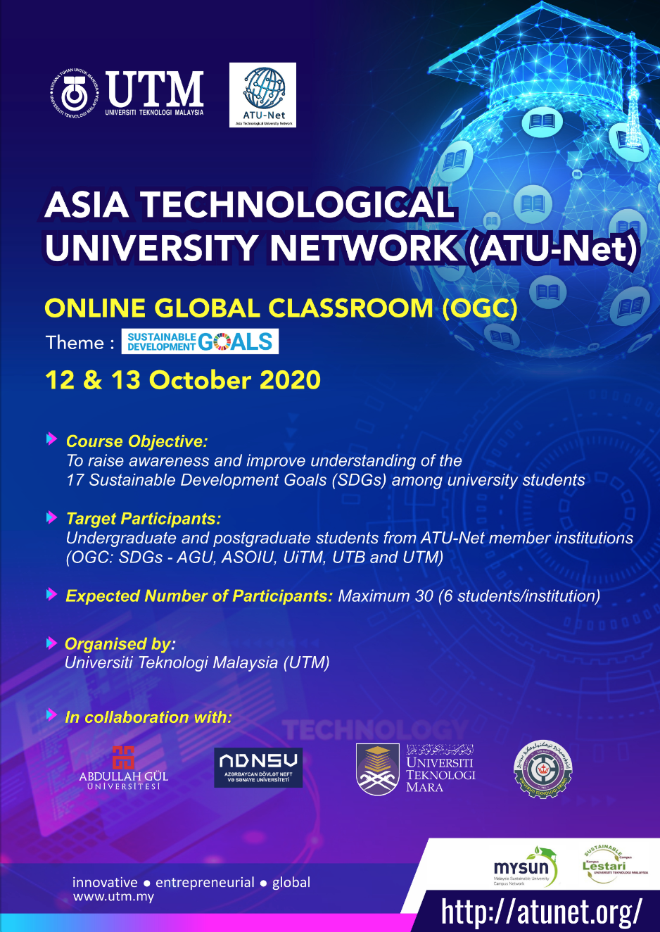 AGU co-organizes ATU-Net Association