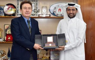 Katar Üniversitesi ile İşbirliği Görüşmeleri...