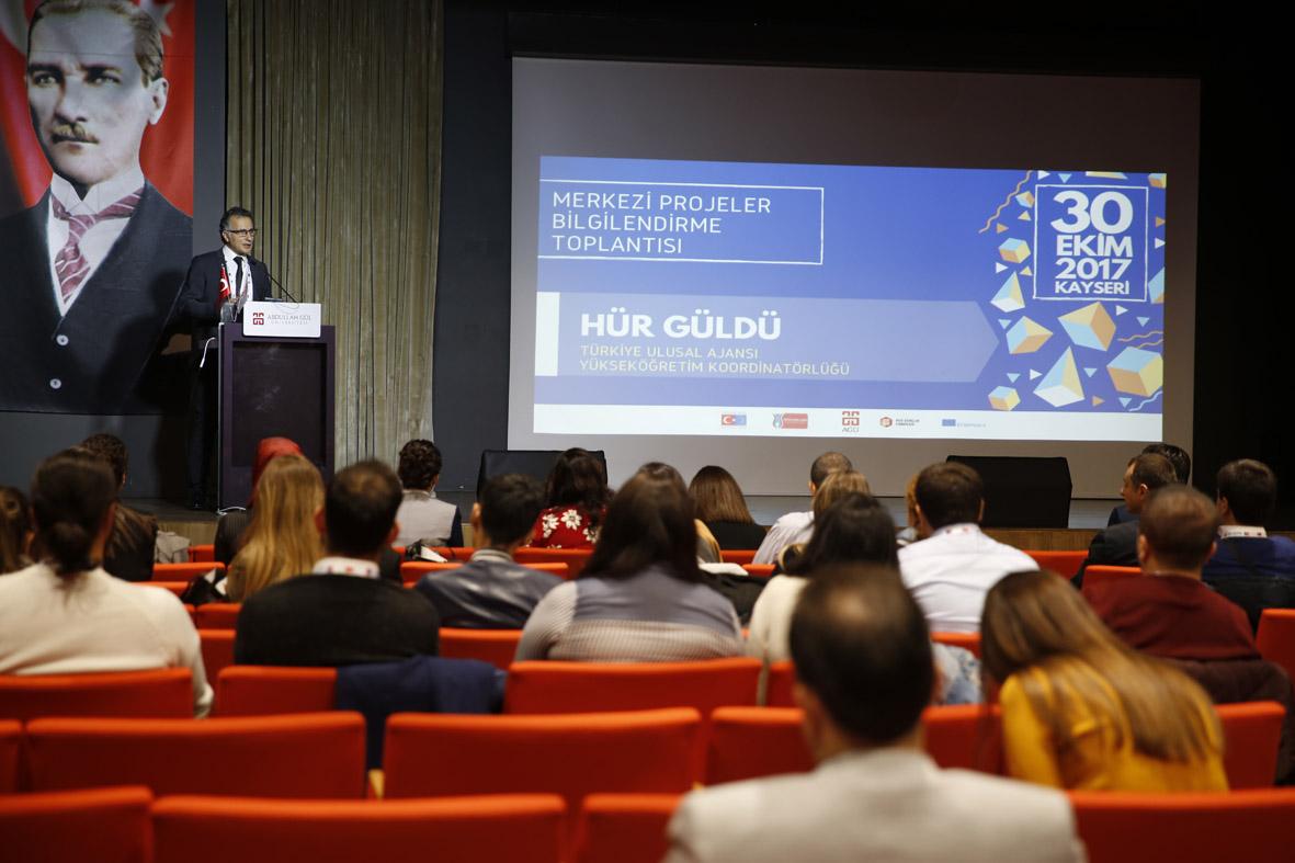 Erasmus+ Yükseköğretim Alanı Merkezi Projeler Bilgilendirme Toplantısı...