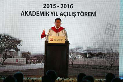 AGÜ 2015-2016 Akademik Yıl Açılışı...