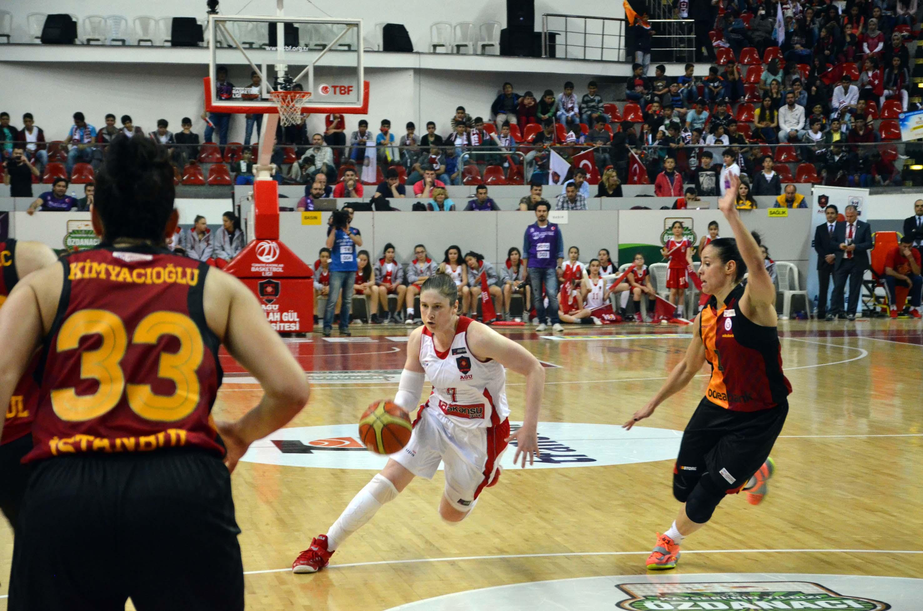 AGÜ Spor, Galatasaray'a Şans Tanımadı