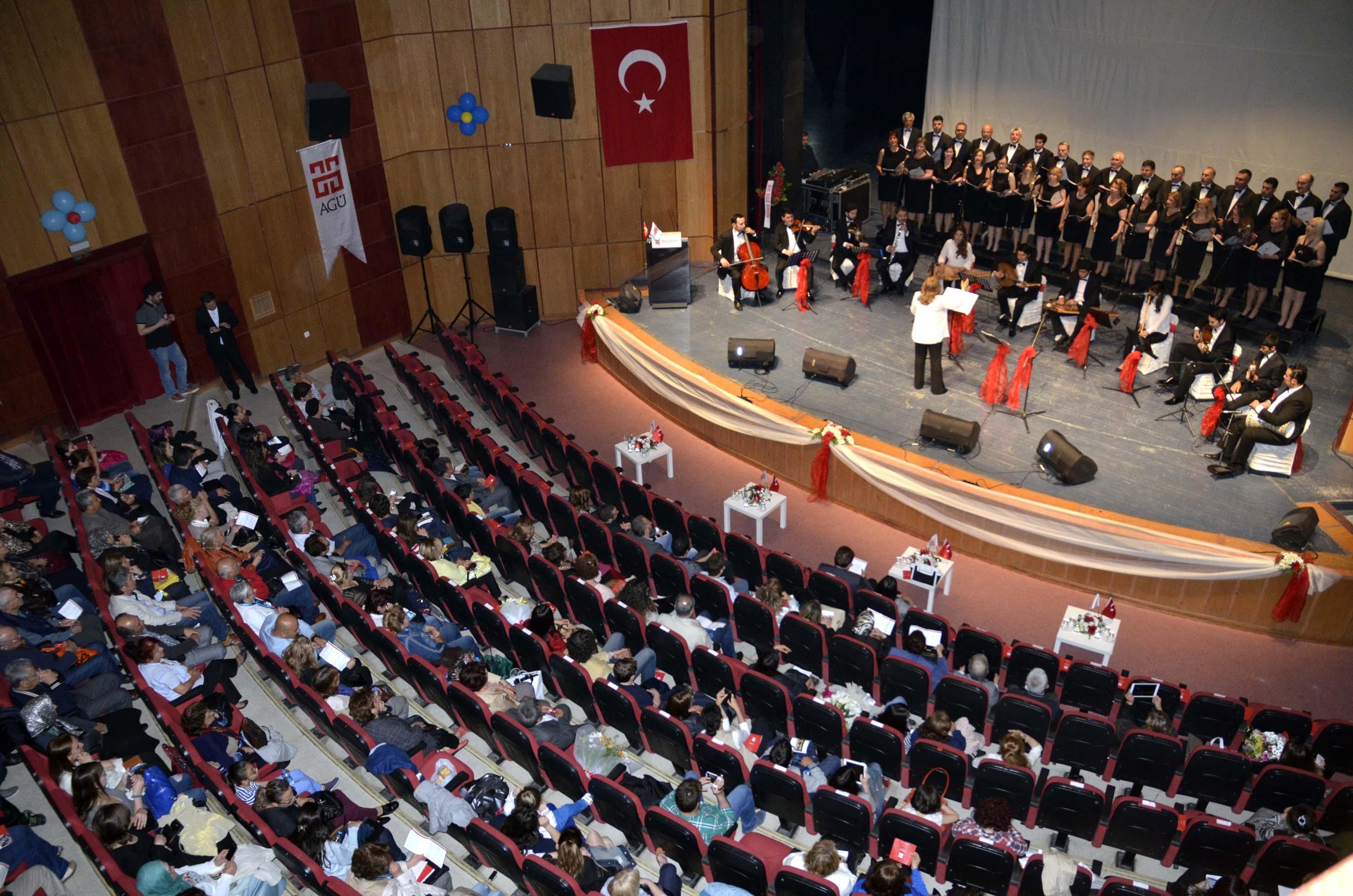 AGÜ Müzik Topluluğu'ndan Bahar Konseri...