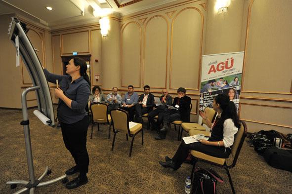 AGÜ'den İki Fakülte İçin Arama Konferansı...