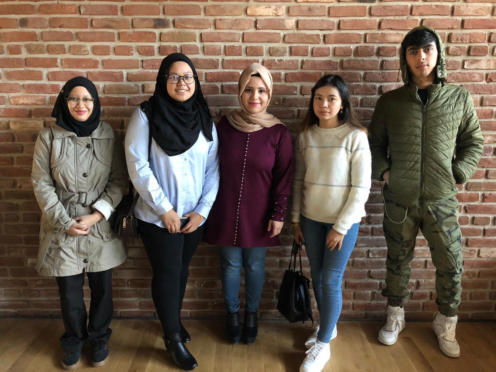 2018-2019 Akademik Yılı Bahar Dönemi Exchange Öğrencileri