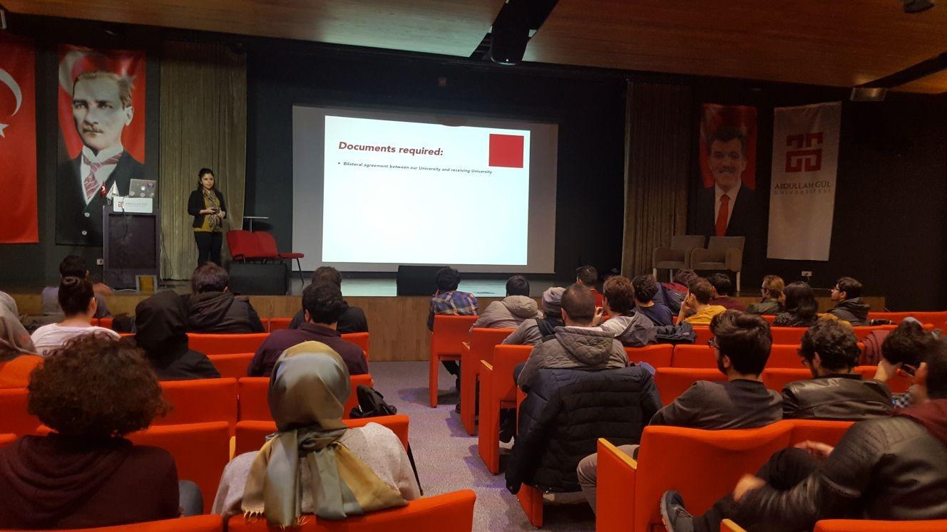 Erasmus ve Exchange Bilgilendirme Toplantısı