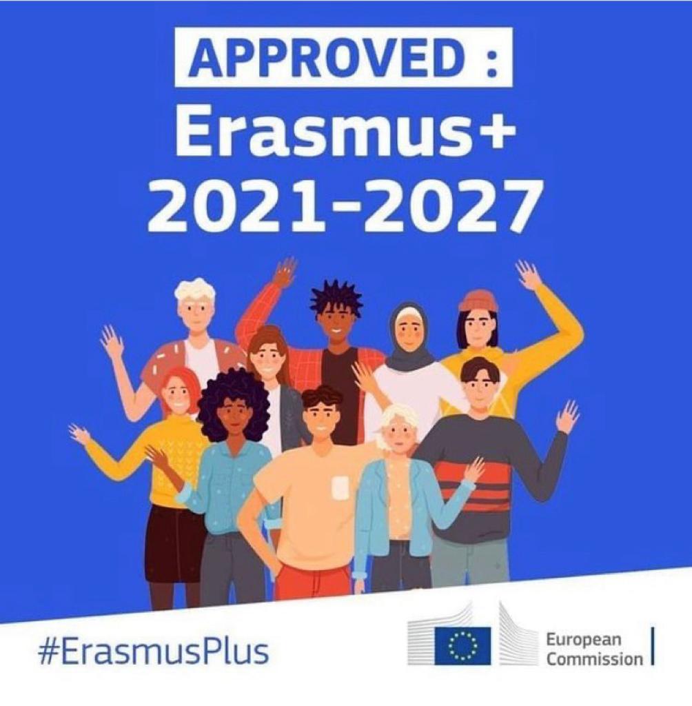 Erasmus+ Programı (2021-2027) Yeni Dönem Anlaşması