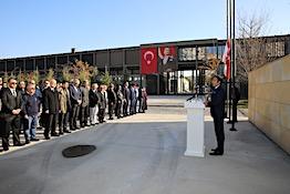 Ulu Önder Mustafa Kemal Atatürk AGÜ'de Anıldı...