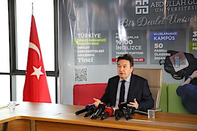 Rektör Sabuncuoğlu'ndan Basın Toplantısı
