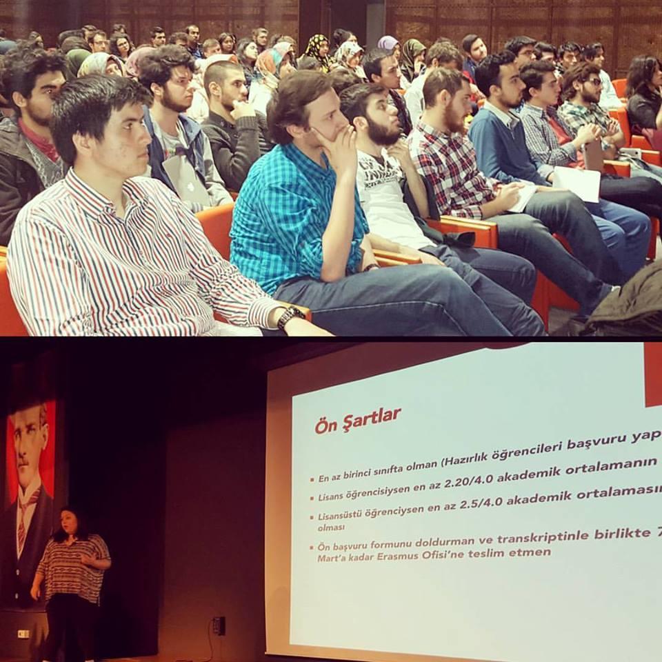 Erasmus Öğrenme Hareketliliği ve Staj Hareketliliği Bilgilendirme Toplantımız Başlamıştır