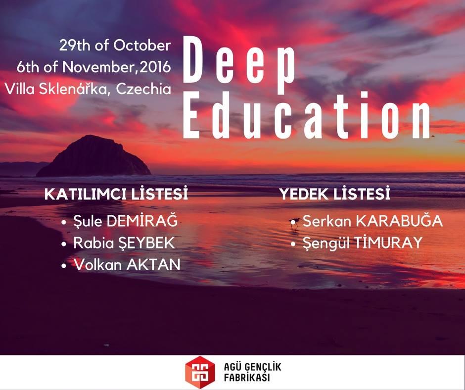 Çek Cumhuriyeti`nde düzenlenecek eğitim kursu katılımcıları belirlenmiştir.