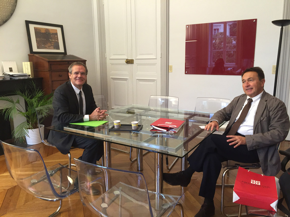Fransız Üniversiteleri İle İşbirliği Görüşmeleri...